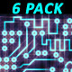 Printed Circuit Board PCB (6-Pack) - VideoHive Item for Sale