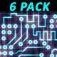 Printed Circuit Board PCB (6-Pack) - VideoHive Item for Sale