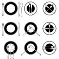Character set cutlery in the restaurant.  - PhotoDune Item for Sale