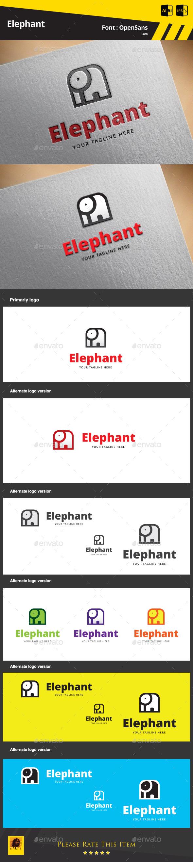 GraphicRiver Elephant Logo Template 9783394