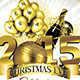 Christmas Eve New Year Party  - GraphicRiver Item for Sale