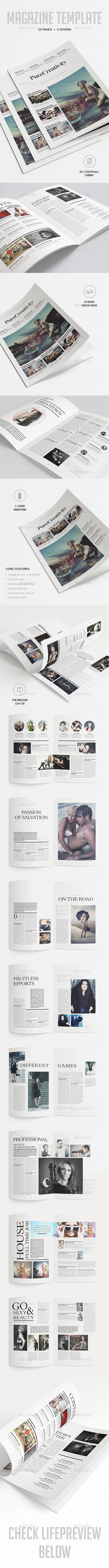 GraphicRiver Magazine Template 9783949