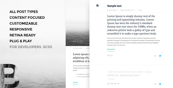 ThemeForest Basic Tumblr Theme 9746114