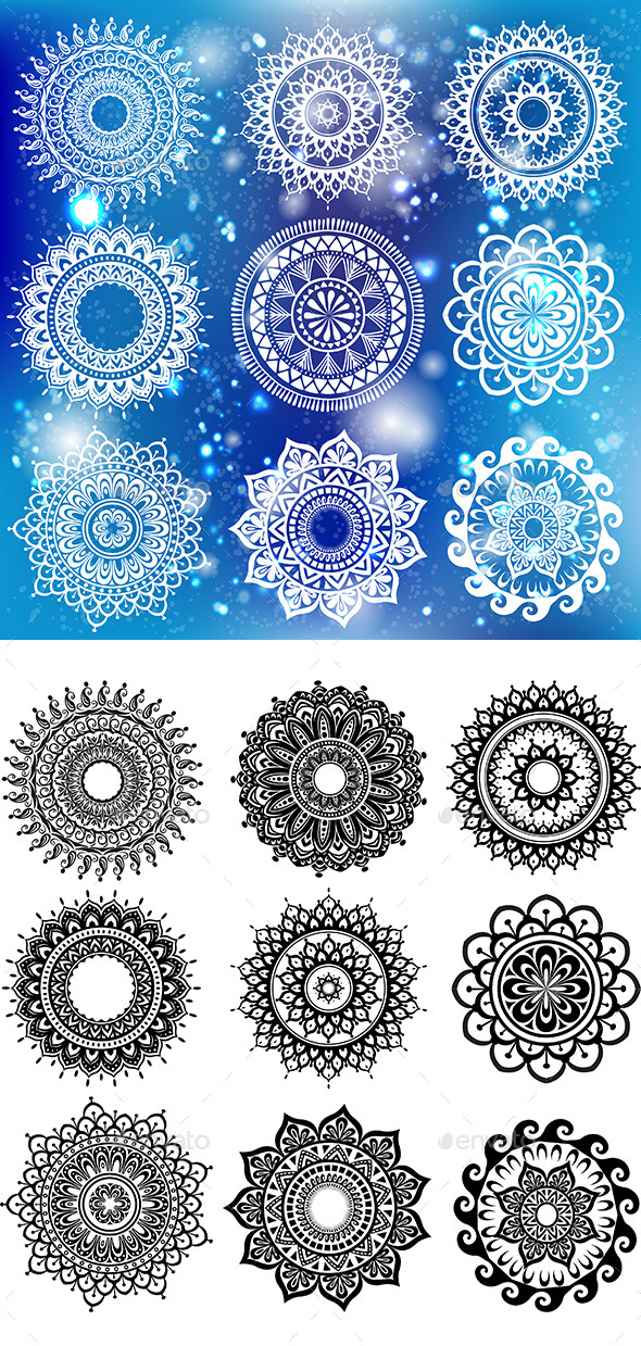 GraphicRiver Round Ornament Pattern 9784171