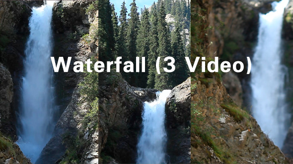 Waterfall 3 Video