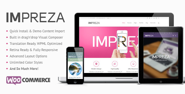 Impreza - Retina Responsive WordPress Theme - Creative WordPress