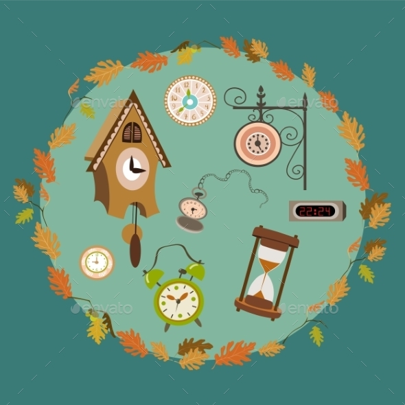 GraphicRiver Clock Collection 9784672