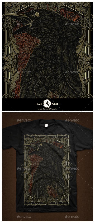 GraphicRiver Dead Crow 9785158