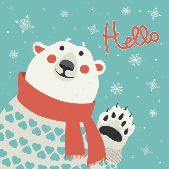 GraphicRiver Polar Bear 9785163