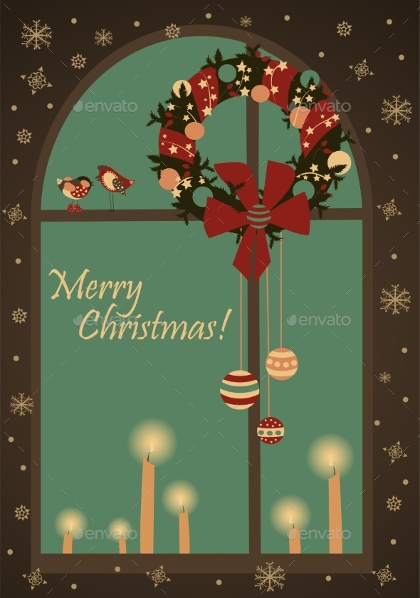 GraphicRiver Christmas Greeting Card 9785178