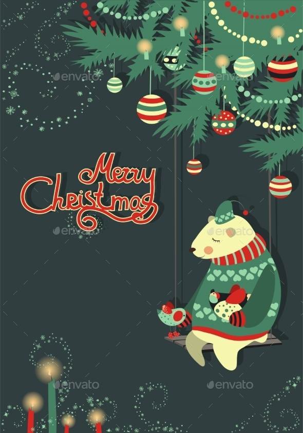 GraphicRiver Christmas Greeting Card 9785189