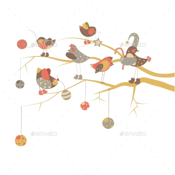 GraphicRiver Christmas Card 9785247