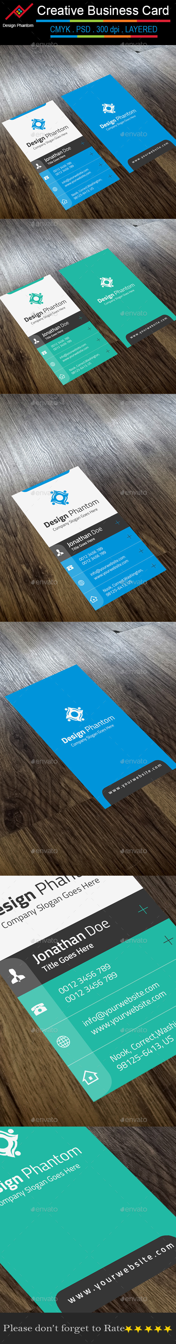 GraphicRiver Creative Business Card 9720931