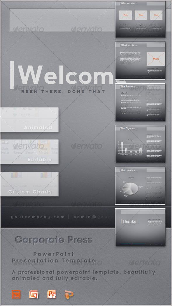 GraphicRiver Corporate Press 124372