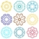 Round Ornament Set - GraphicRiver Item for Sale