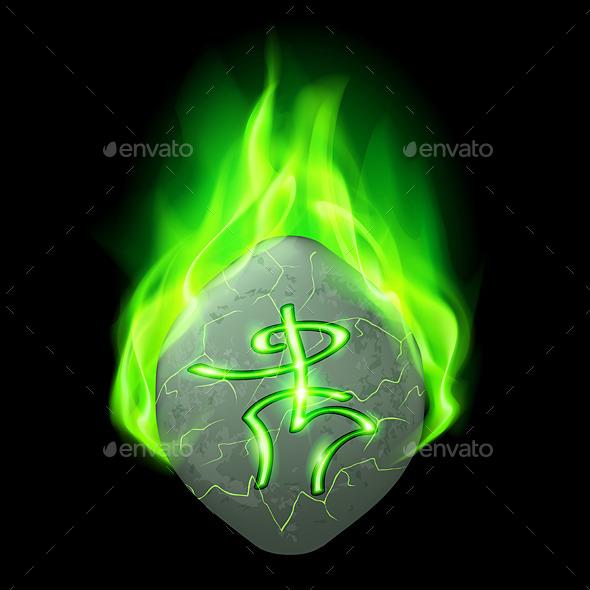 GraphicRiver Runic Stone 9786042