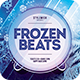 Frozen Beats Flyer - GraphicRiver Item for Sale