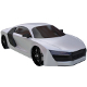 Generic sport/gt car (suitable for car racing game - 3DOcean Item for Sale