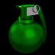 M67 fragmentation hand grenade (UV unwrapped) - 3DOcean Item for Sale