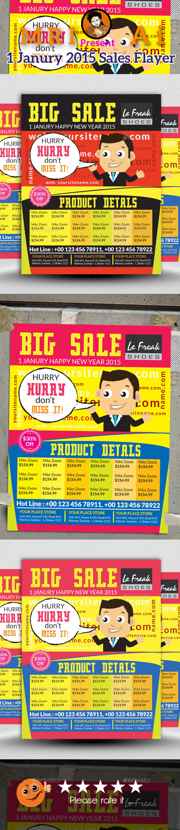 GraphicRiver Sales Flayer 9723251
