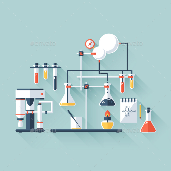 GraphicRiver Chemistry Laboratory 9714803