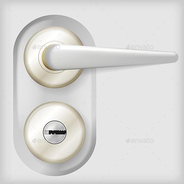 GraphicRiver Vector Illustration of Door Handle 9788404