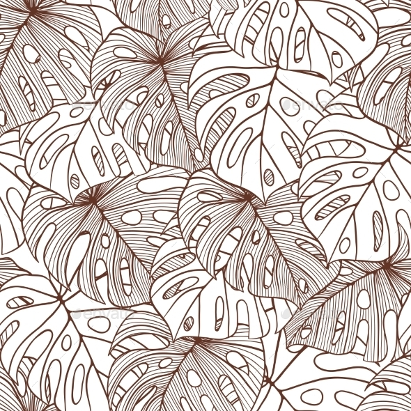 GraphicRiver Leaves Background 9788446