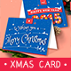 Folding Christmas Card - GraphicRiver Item for Sale