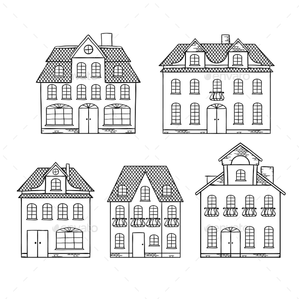 GraphicRiver Houses 9788494