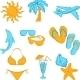 Tourism Symbols - GraphicRiver Item for Sale