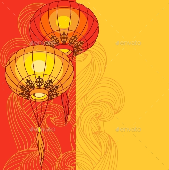 GraphicRiver Chinese Lanterns 9788505