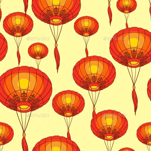 GraphicRiver Chinese Lanterns 9788511