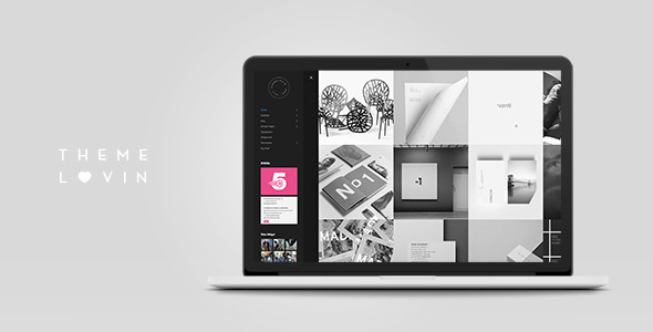 Boo: Minimalistic and Creative Sidebar Theme - Portfolio Creative