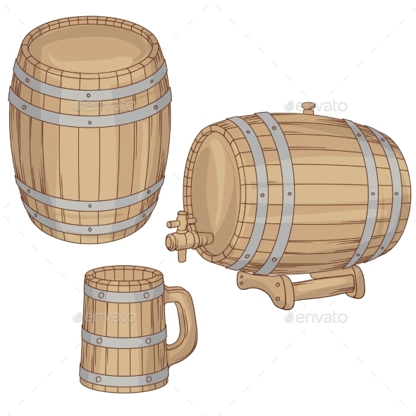 GraphicRiver Barrels 9788522