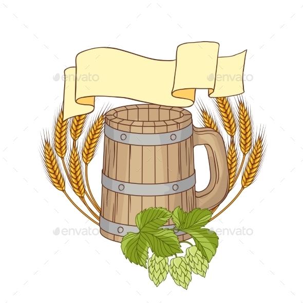 GraphicRiver Barrel Background 9788527