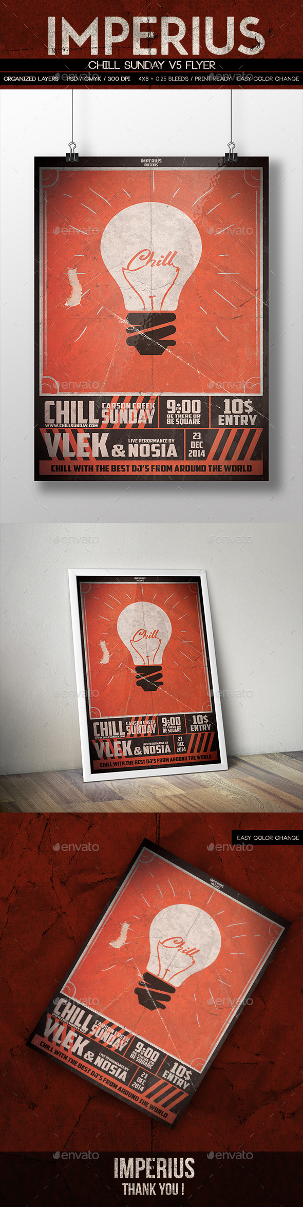 GraphicRiver Chill Sunday V5 9788584
