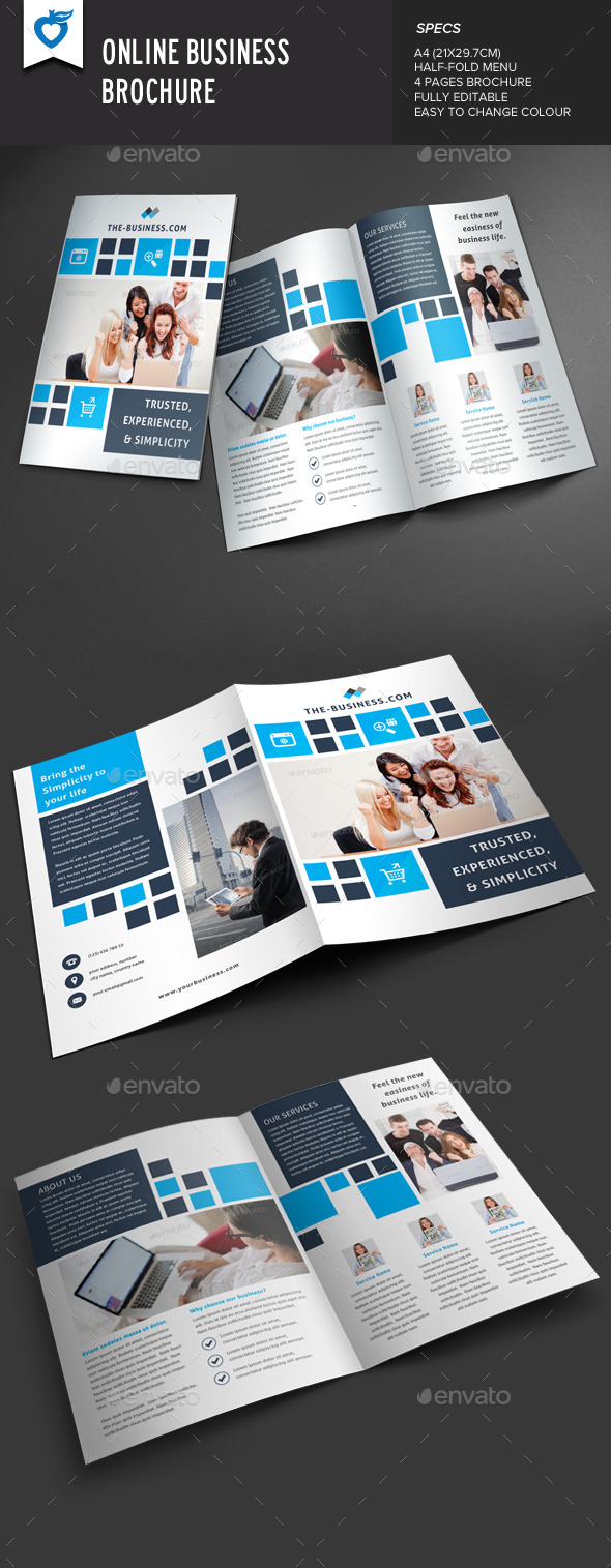 GraphicRiver Online Business Brochure 9788590