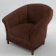 Armchair nr.4 - Chesterfield (textured, 5 uv-mappe - 3DOcean Item for Sale