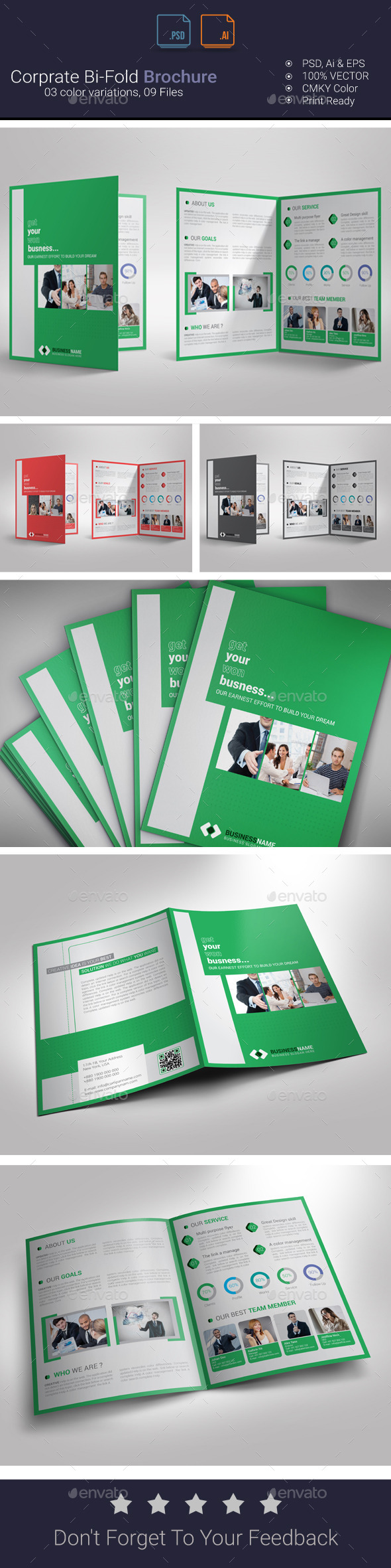 GraphicRiver Bi-Fold Brochure 9788825