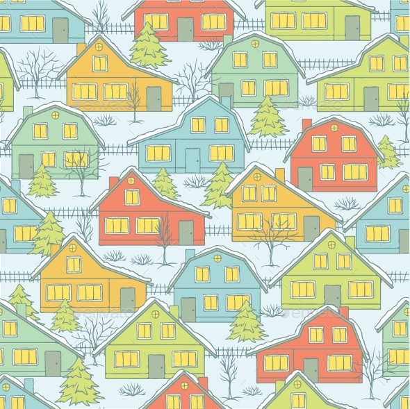 GraphicRiver Christmas Pattern 9788851