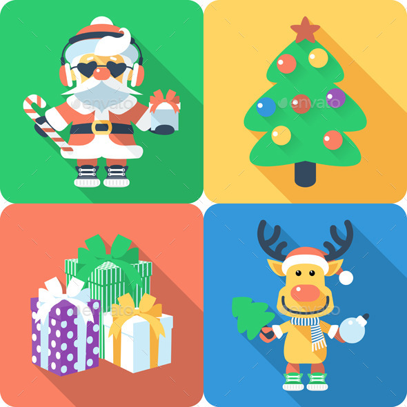 GraphicRiver Christmas Set 9788985