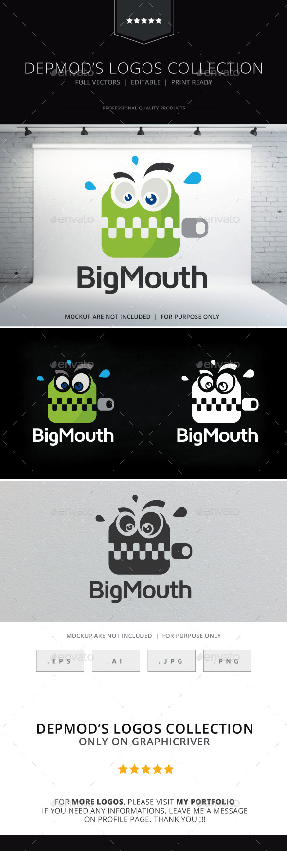 GraphicRiver Big Mouth Logo 9789010