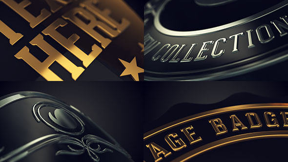 Vintage Logo Badges Package