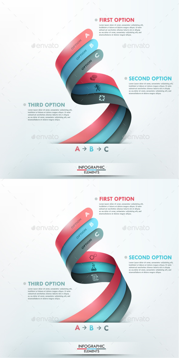 GraphicRiver Modern Infographic Options Template 2 Items 9789620