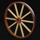 Cart Wheel - 3DOcean Item for Sale