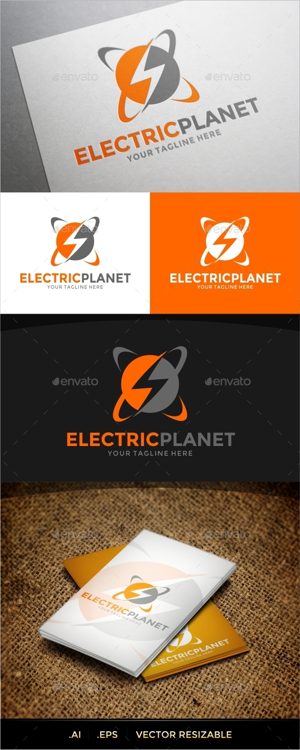GraphicRiver Electric Logo Template 9789761