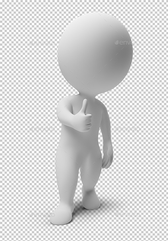 3D Small People Okay