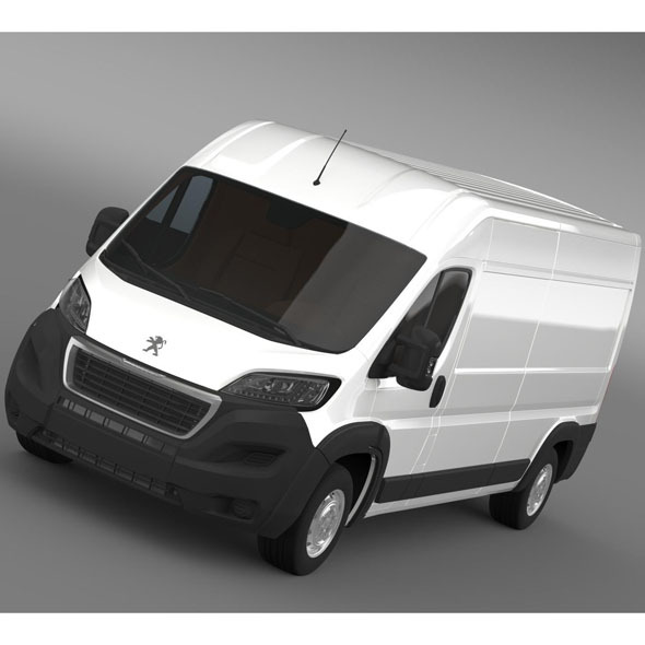 Peugeot Manager Furgon L3H2 2014 - 3DOcean Item for Sale
