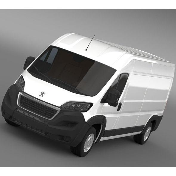 3DOcean Peugeot Manager Furgon L3H2 2014 9790415