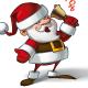 Smilling Santa - Ho Ho Ho - GraphicRiver Item for Sale